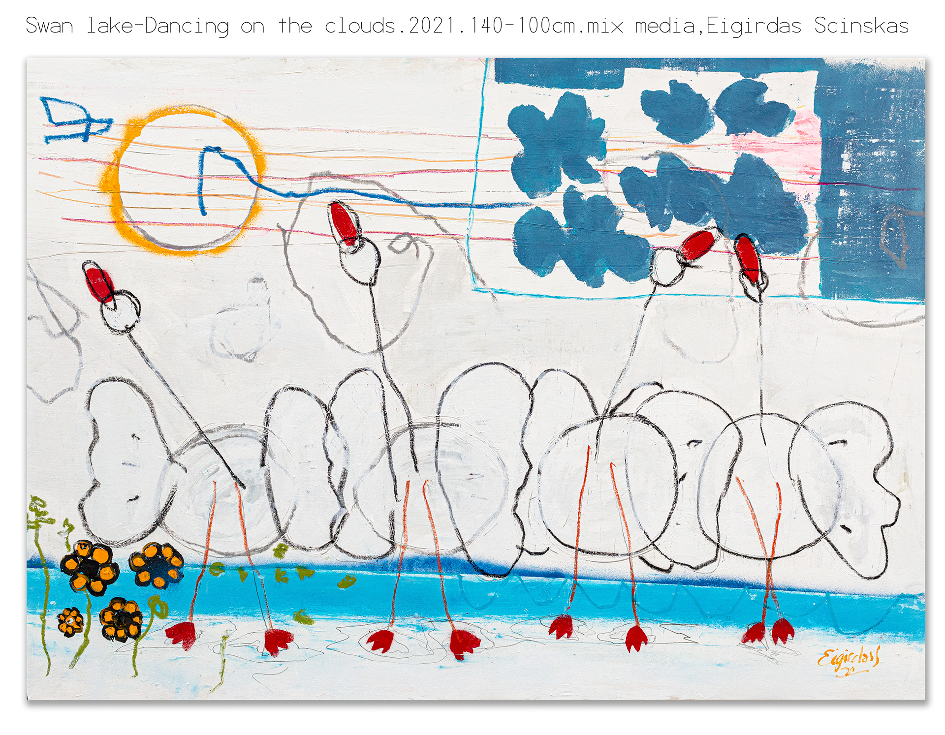 Swan Lake - Dancing On The Clouds